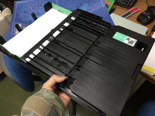 給紙トレイA3サイズ