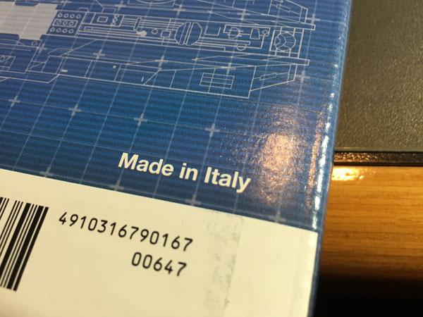 バインダーはイタリー製