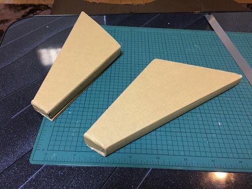 左右対称で2個作る