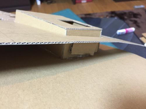 曲線を作るためのカマシ